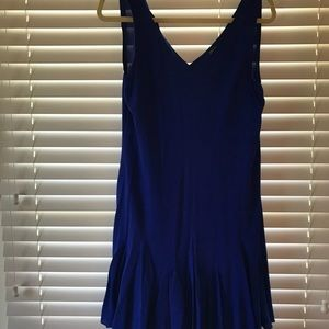 Ralph Lauren Silk Dress w/ Drop Skirt